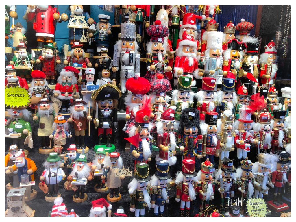 Gifts and souvenirs at Edinburgh Christmas Market